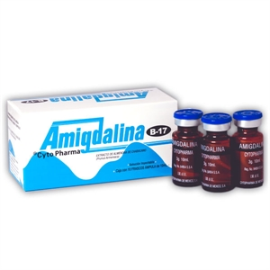 Picture of Amygdalin Injectable solution, Box of 10 vials (3gr each)
